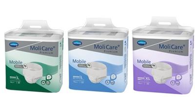 Naťahovacie inkontinenčné nohavičky MoliCare Mobile s vysokou absorpciou