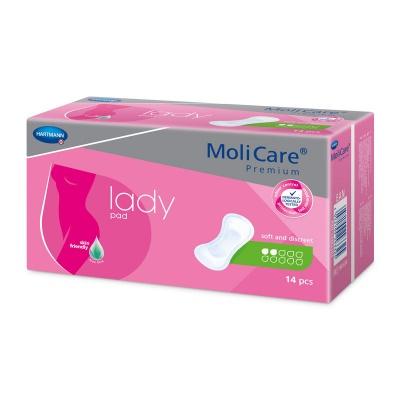 MoliCare Premium Lady 2 kvapky (Mini) - špeciálne vložky na ľahký únik moču pre ženy