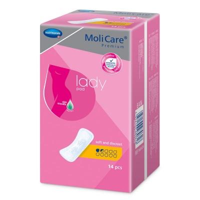 MoliCare Premium Lady 1,5 kvapky (Micro) - špeciálne vložky na ľahký únik moču pre ženy