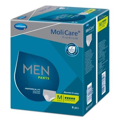 Pánske inkontinenčné nohavičky MoliCare Men Pants 5 kvapiek velikosti M