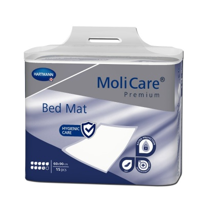 Absorpčné podložky MoliCare Bed Mat 9 kvapiek 60 x 90 cm