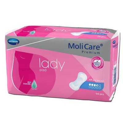 Inkontinenčné vložky MoliCare premium lady pad 3,5 kvapky pre ľahký únik moču