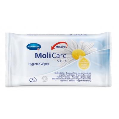 MoliCare Skin Hygienické obrúsky 10 ks